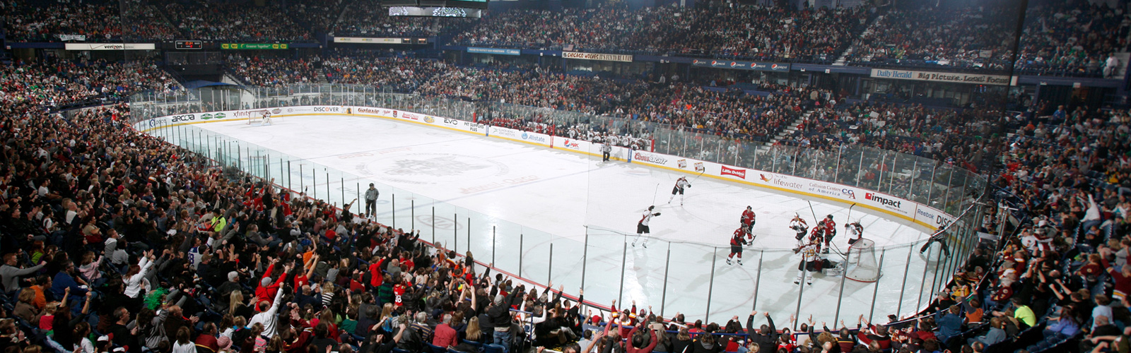 Chicago hockey arena