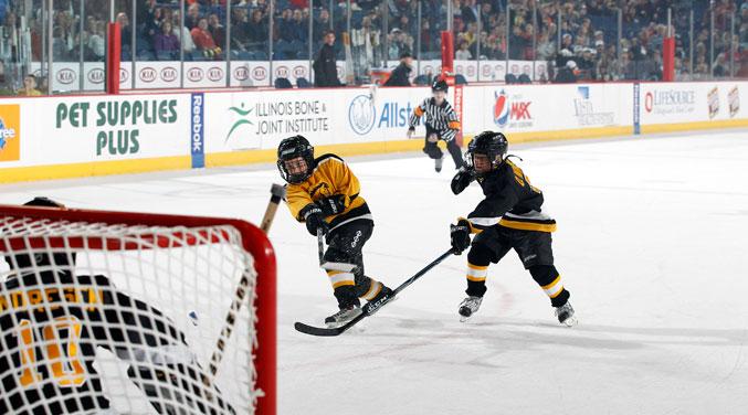 fun youth hockey event