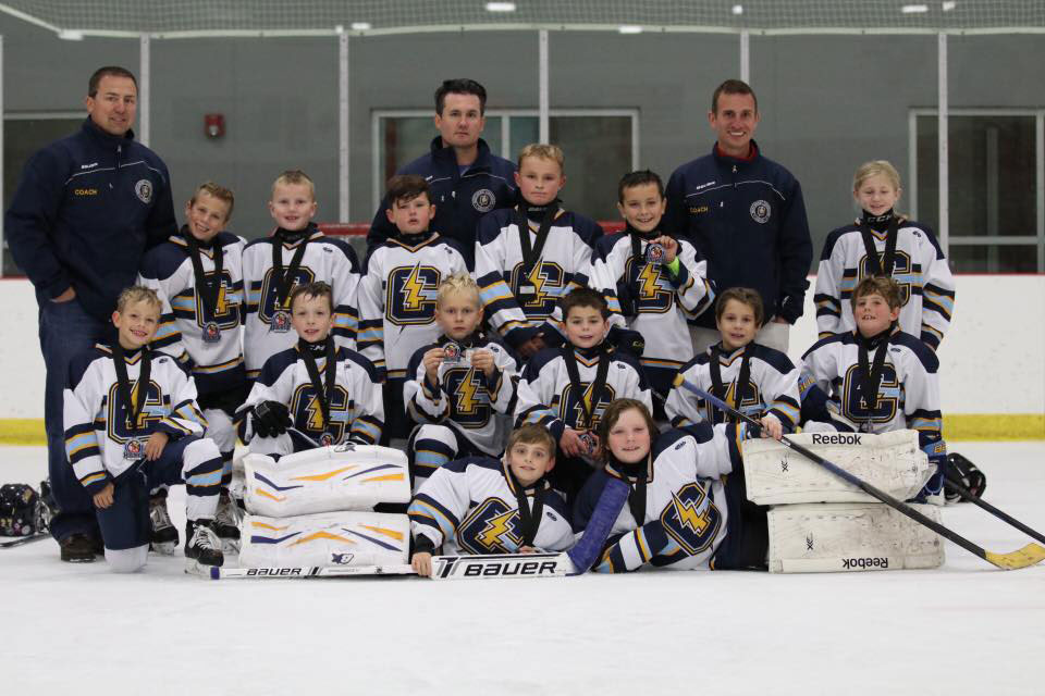 October 2016 Youth Hockey Team of the Month: Northwest Jr. Chargers Mite 2