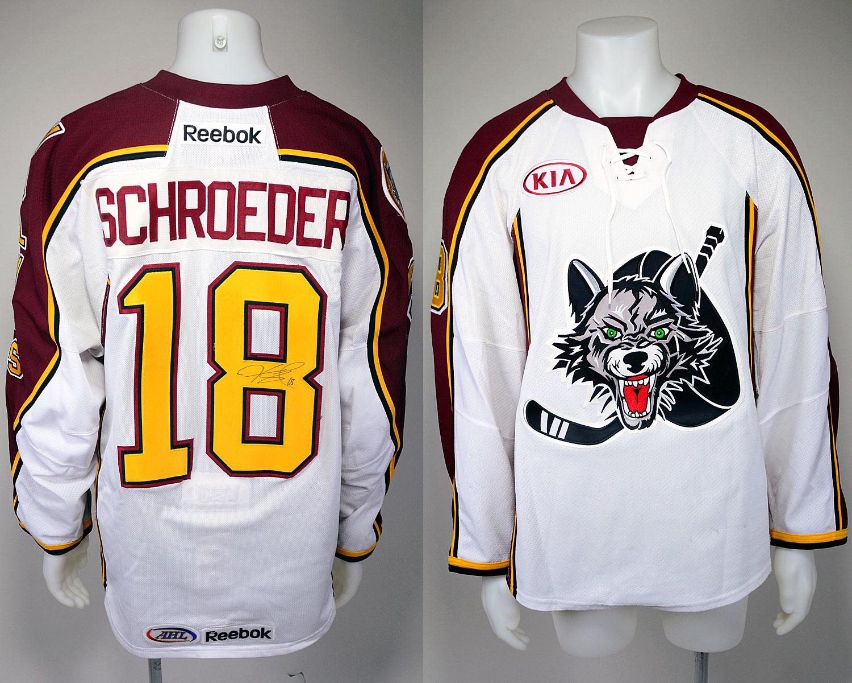#18 Jordan Schroeder Game-Worn Autographed Alternate Jersey