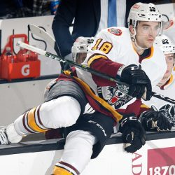 Chicago Wolves Kenny Agostino CCM/AHL Player of the Month
