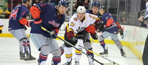 Chicago Wolves Samuel Blais