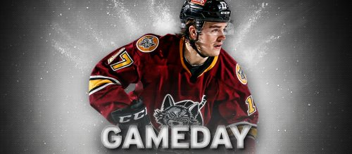 Chicago Wolves Gameday Samuel Blais