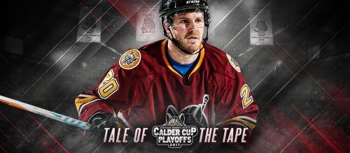 Chicago Wolves Gameday Header Calder Cup Playoffs