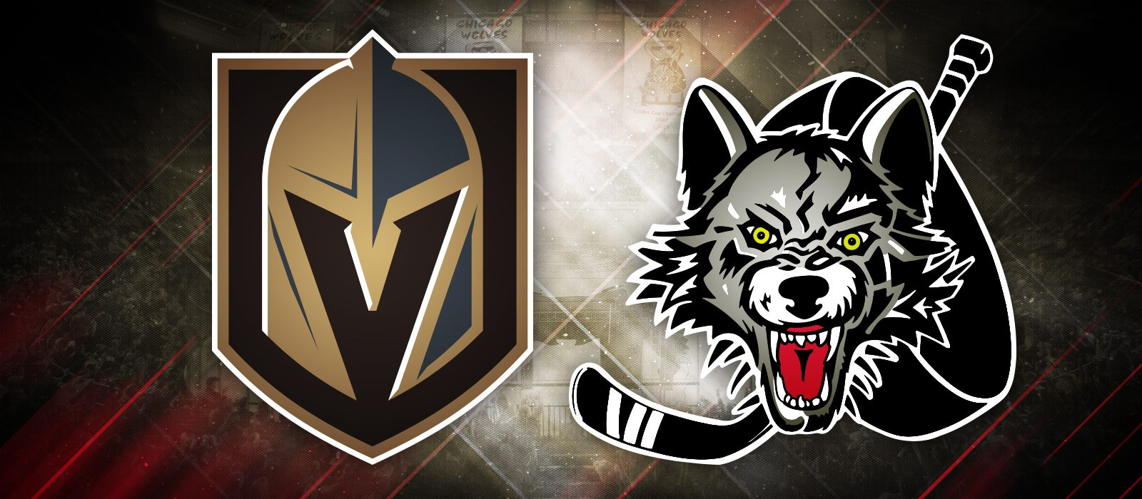 Wolves Join Forces with Vegas Golden Knights - Chicago Wolves