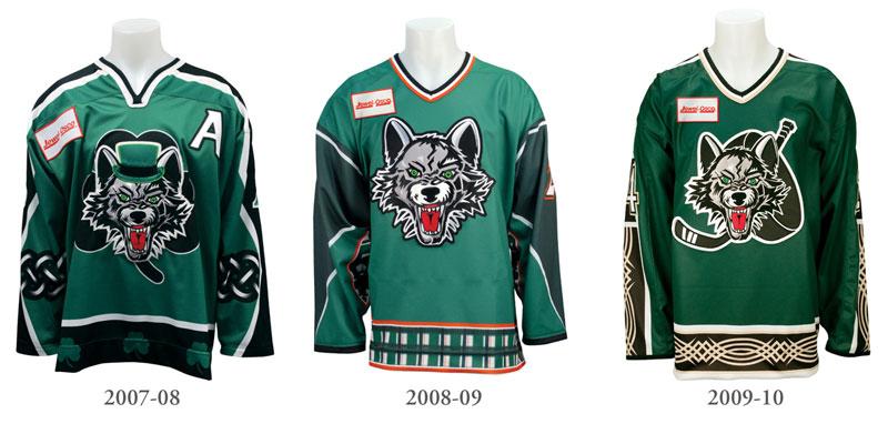 StPats Jerseys 2008-2010