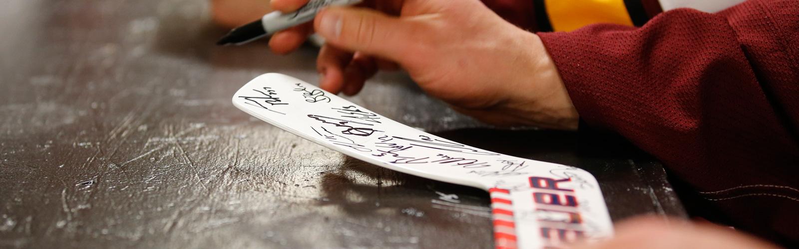 Chicago Wolves autograph