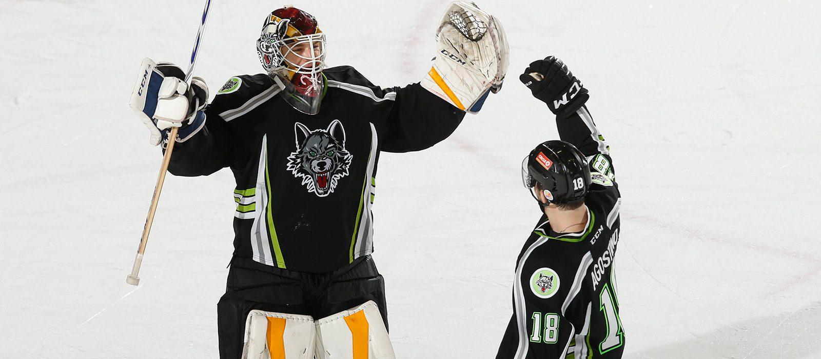 Chicago Wolves Milwaukee Admirals Shootout Win