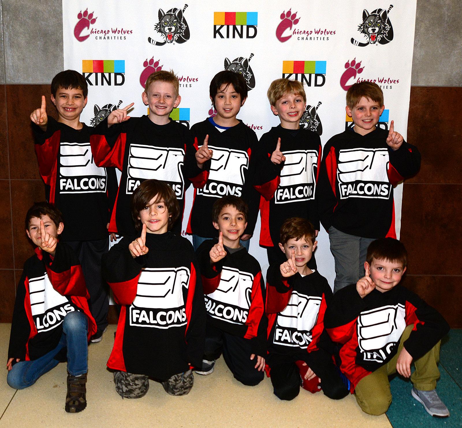 Falcons Super Mite House League Champions!