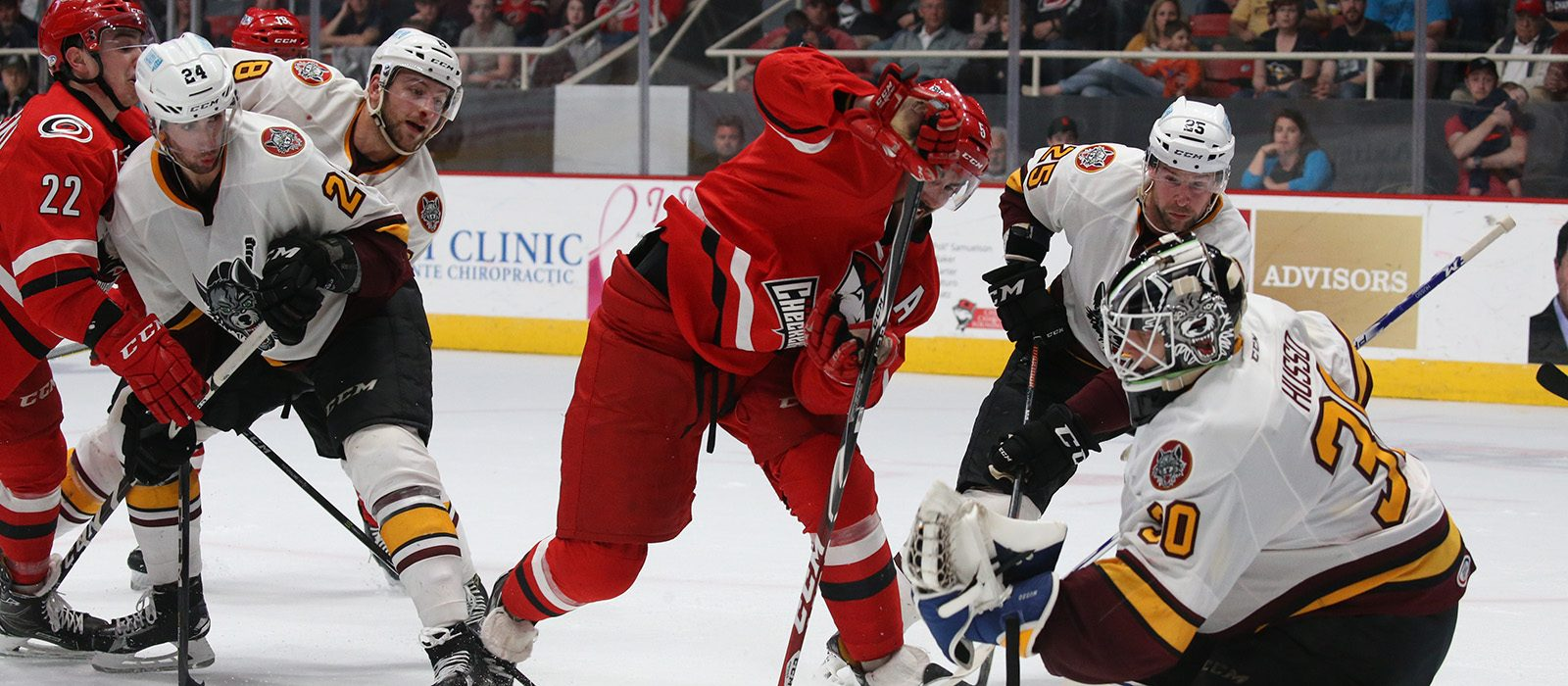 Chicago Wolves Game 2 Central Division Semifinals