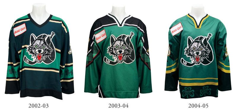 StPats Jerseys 2003-2005
