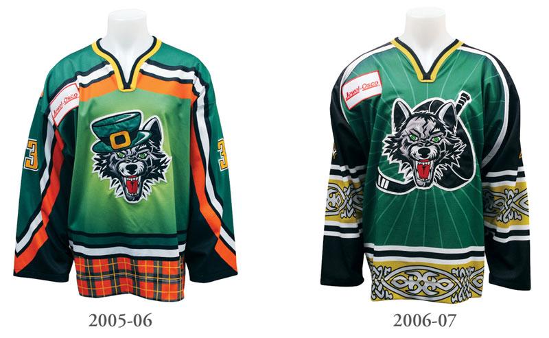 StPats Jerseys 2006-2007