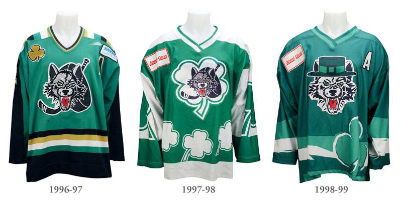 StPats Jerseys 1996-1999